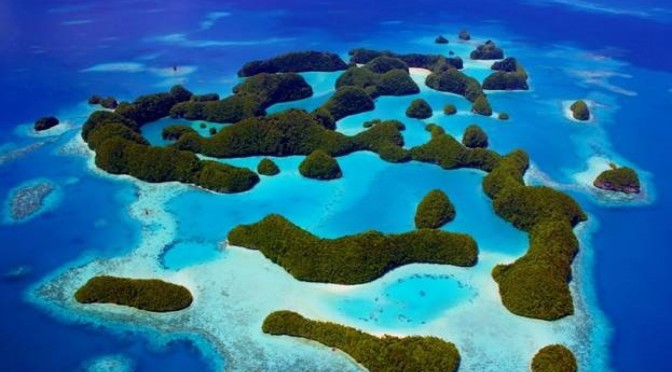 Palau beschermt 80% van haar oceanische wateren